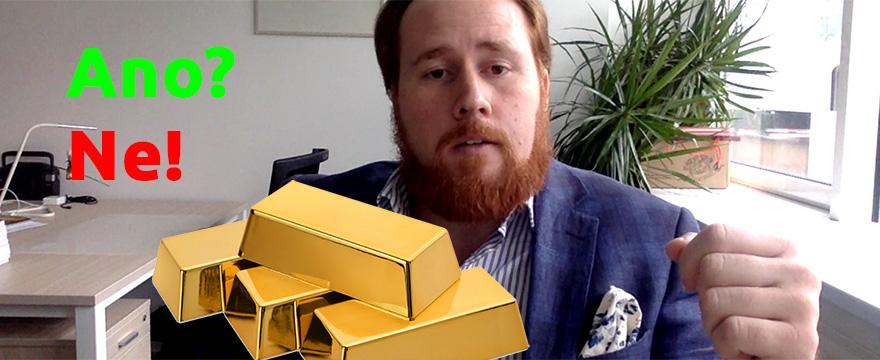Má smysl kupovat zlato, když ho kupují centrální banky?