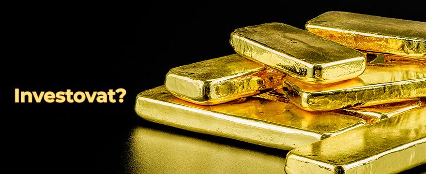 Zlato na maximech – jak se postavit k investici do něj