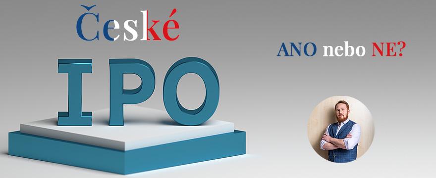 Jak (ne)investovat do českých IPO